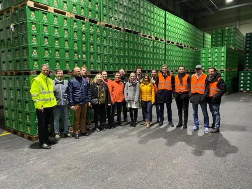 12.11.2019 Unternehmensbesichtigung Brauerei Königshof